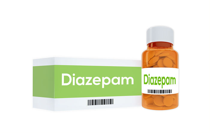 Diazepam on board ships