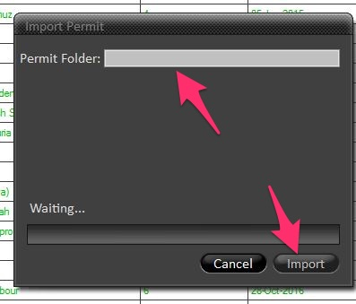 Import ENC from permit into Chartco