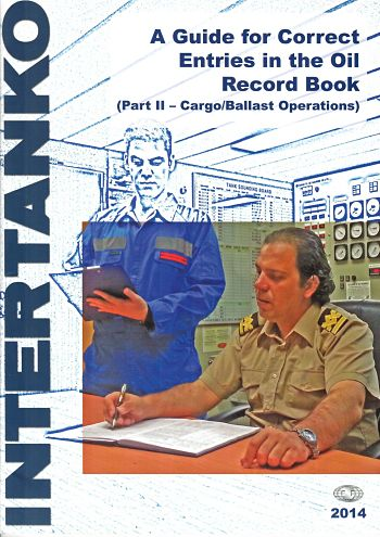 Intertanko guide for oil record book entries