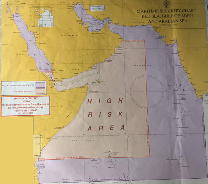A Guide to transit through Gulf of Aden and Somalian waters - MySeaTime